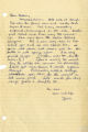 [Letter from Janie to Beth Taylor]