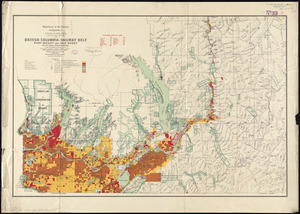 British Columbia Railway Belt: Port Moody and Yale sheet, west of sixth & seventh meridians : map showing disposition of lands