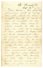 Aden Lippincott letters 1862-1863