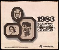 Calendar. The Afro-American Historical Calendar