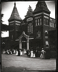 Visitors to the United States National Museum at the Turn of Century