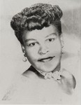 La Verne Pinkard, Queen Contestant, The Oxnard Community Fair : 1954 ; La Verne, the first African-American contestant and first runner-up, was sponsored by the Civic Progressive League