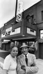 Nick and Edna Stewart at Ebony Showcase Theater