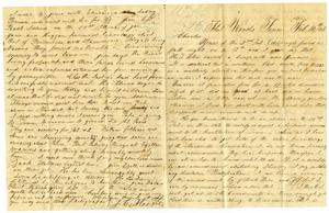 [Letter from Josephus Moore to Charles Moore, February 16, 1865] Charles B. Moore Family papers, 1832-1917