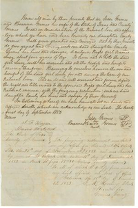 [Deed of slave Lucy to Emily Grimes]