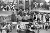 """Images of the """"March Against Fear"""" through Mississippi, begun by James Meredith."""