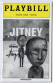 Jitney Playbill, Second Stage Theatre, New York, 2000.
