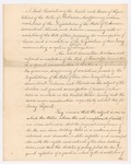 Alabama Resolution, January 1827