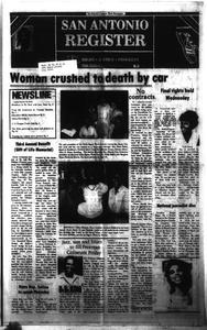 San Antonio Register (San Antonio, Tex.), Vol. 49, No. 20, Ed. 1 Thursday, August 23, 1984 San Antonio Register