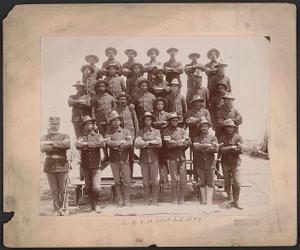 Thumbnail for Co. E, 9 U.S. Vol. Inf., 1899
