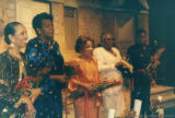 Maya Angelou and others receiving awards
