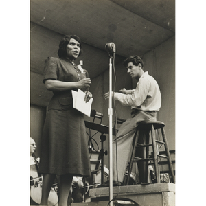 Thumbnail for Marian Anderson and Leonard Bernstein