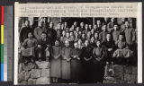 Lay workers at evangelistic conference, China, 1949