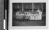 First Communion Group, Laipo, Guangxi, China, August 15, 1949