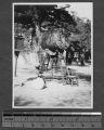 Large ceremonial drum, China, ca.1930