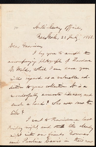 Letter from Oliver Johnson, New York, [N.Y.], to William Lloyd Garrison, 23 July, 1863