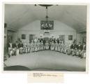 B. F. Goodrich Company minstrel show photograph