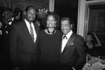 Sammy Davis Jr. at Emmy Award reception, Los Angeles, 1989