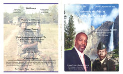 Celebrating the life of Jerry L. Conner, Saturday, September 29, 2007, homegoing service, 10:00 a.m., Christ Temple Baptist Church, 2372 Holmes~ Ypsilanti, Michigan, Rev. Dr. Steven Riley, officiating