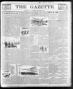 The Gazette. (Raleigh, N.C.), Vol. 9, No. 27, Ed. 1 Saturday, August 21, 1897 The Gazette The Weekly Gazette