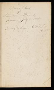 Journal--July 1919 through 1920