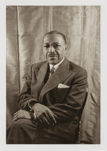 Charles S. Johnson, from the portfolio 'O, Write My Name': American Portraits, Harlem Heroes