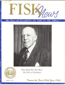 Fisk News, volume 37, number 3