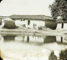 India. Hindu's mud house, ca. 1906