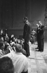 Martin Luther King, Hill Auditorium, November 5, 1962