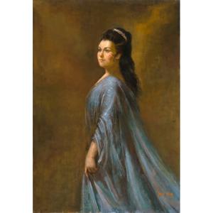Marilyn Horne as Adalgisa in Vincenzo Bellini's Norma