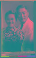 Dr. Gih and his wife, Singapore, Jan. 17, 1955