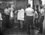 Woolworth's Protestors and Law Enforcement Officers