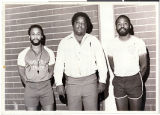Photograph of Lovell Gaines and friends at Doolittle Rec Center, 1981