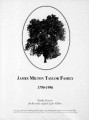 James Milton Taylor family, 1790-1996 : family histories for the twelve original Taylor children