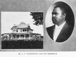 Dr. G. P. Washington and his residence