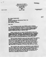 Letter: New Orleans, Louisiana, to James Dombrowski, New Orleans, Louisiana, 1962 July 5
