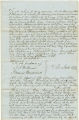 Deed of manumission by Frederick Scott for Negro slave named Thomas Cox