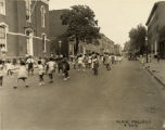 Children at play on Division Street, Baltimore