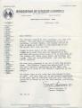 Letter from Ellett Lawrence II to Friend