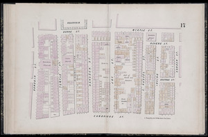 Plan of the city of Boston: plate 17