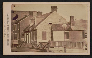 Barbara Fritchie's home, Frederick, Md.