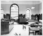 Hough branch 1965: Carnegie building, interior