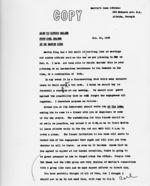 Memorandum: to Howard Melish, 1963 January 18