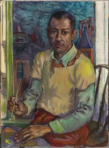 James Amos Porter Self-Portrait