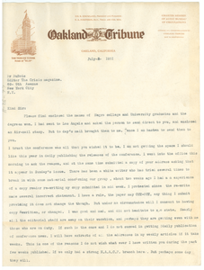 Letter from D. L. Beasley to W. E. B. Du Bois