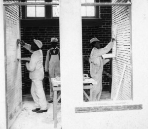 Trade School Plastering Department: Hampton Institute