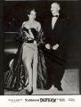 Katherine Dunham and John Pratt arriving at a gala