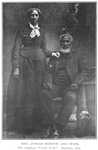 """Rev. Josiah Henson and wife; The original """"Uncle Tom"""", Dresden, Ont"""