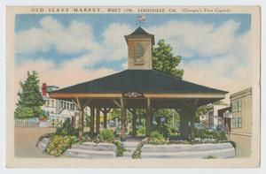 [Postcard of Pavilion] 12th Armored Division Collection