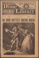 The sham spotter's shrewd scheme, or, Detective Burr's diamond drop: the story of the Mortimer million